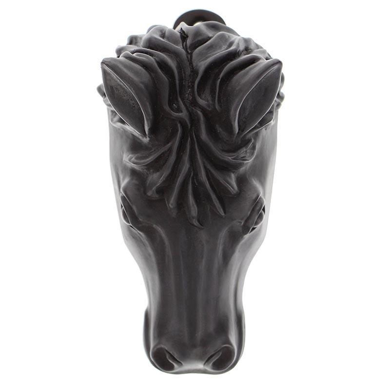Horse head solid pewter door knocker oil rubbed bronze - Horse head door knocker ...