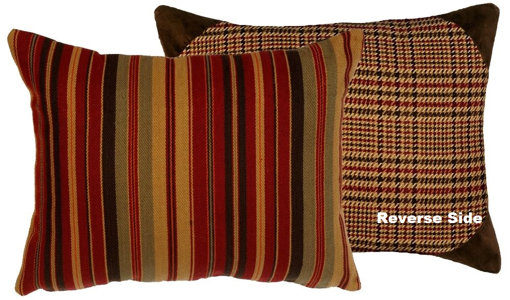 bandera western sham pillow cover in standard and king sizes. Black Bedroom Furniture Sets. Home Design Ideas