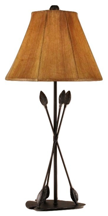 Three arrows southwest metal art table lamp shade 31 mozeypictures Image collections