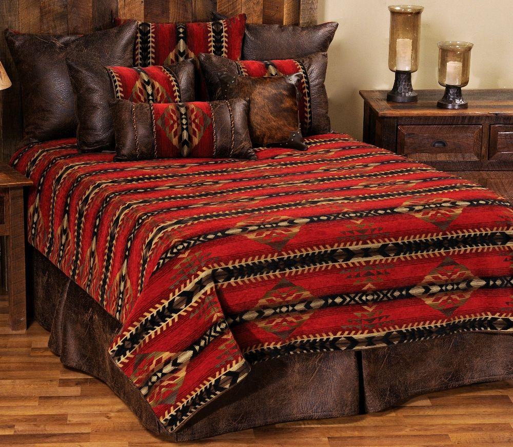 Gallop southwest deluxe bedding ensemble set for Southwest beds