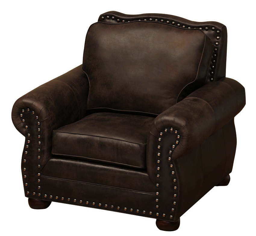 Jerome Davis Leather Upholstered Lounge Chair