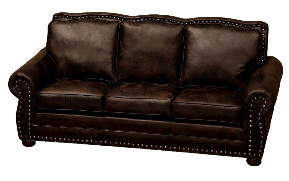 Jerome Davis Leather Upholstered Sofa