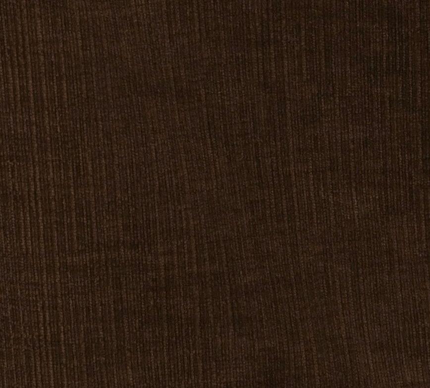 Heavenly Espresso Brown Corduroy Eurosham Cover 26 X 26