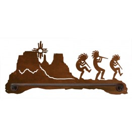 image for Kokopelli Desert Scenic Hand Towel Bar