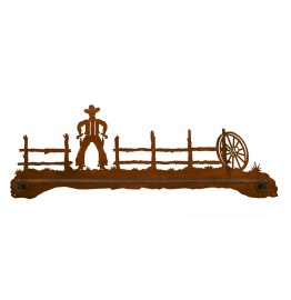 image for Cowboy Draw Scenic Bath Towel Bar