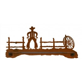 image for Cowboy Draw Scenic Hand Towel Bar