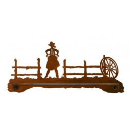 image for Cowgirl Draw Scenic Hand Towel Bar