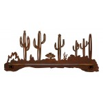image for Desert Cactus Southwest Scenic Hand Towel Bar