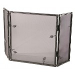 image for Sassafras Collection Triple Panel Iron Fire Screen