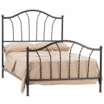 image for French Country Prescott Iron Bed Queen Size Complete & FREE SHEETS