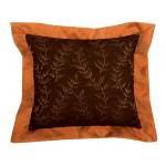 image for Marisol Leaf Design Decorative Throw Pillow 16 x 16