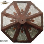 image for Indian Arrowhead Design Ceiling Fixture 23 inch