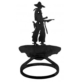 image for Cowboy Pistol Drawn Towel Ring