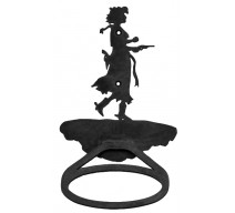 image for Cowgirl Pistol Drawn Towel Ring