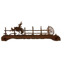 image for Cowboy Bronc Rider Scenic Bath Towel Bar
