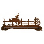 image for Cowboy Bronc Rider Scenic Hand Towel Bar