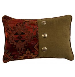 image for Bessie Gulch Tapestry Throw Pillow 12 x 18