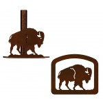 image for Buffalo Southwestern Paper Towel Stand & Napkin Holder