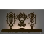 image for Mystic Yei Symbols Southwest Back-Lit Wall Art 42 inch