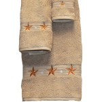 image for Barn Star 3-Piece Bath Towel Set Linen