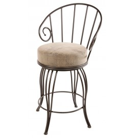 image for Bella Iron Bar Stool 30""