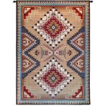 image for Brazos Southwest Geometric Wall Tapestry 53 x 76