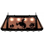 image for Bronc Rider Western Galley Pool Table Light
