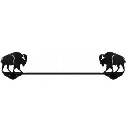 Bison Buffalo Bath Towel Bar 33 inch