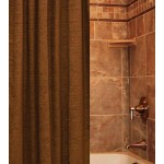 image for Casidy Copper Luxury Fabric Shower Curtain Custom Made
