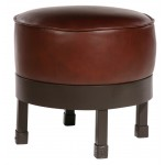 image for Cedarvale Iron Upholstered Ottoman