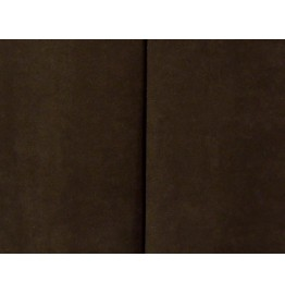 image for Chocolate Brown Suede Tailored Bed Skirt