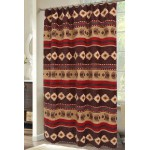 image for Cimarron Chenille Fabric Southwest Shower Curtain