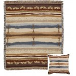 image for Cimarron Southwest Tapestry Throw & Pillow Set