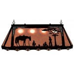 image for Cowboy Camp Western Galley Pool Table Light