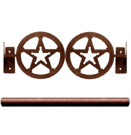 image for Sheriff Star Pole Rod Holders (Rod Optional)