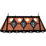 image for Desert Diamond & Turquoise Galley Pool Table Light
