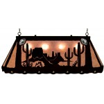 image for Cactus Desert Scene Southwest Galley Pool Table Light