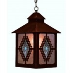 image for Desert Diamond & Turquoise Pendant Lantern Light