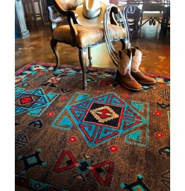 image for Desert Diamond Southwestern Rug Various Sizes by American Dakota
