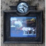 image for Three Horse Medallion 8x10 Photo Frame by Marrita McMillian