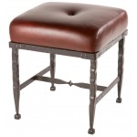 image for Forest Hill Iron Shorty Foot Stool 18 inch