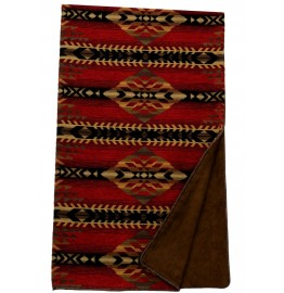 image for Gallop Southwest Chenille Throw Blanket 54 x 72