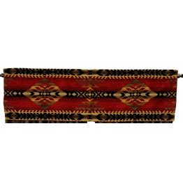 image for Gallop Southwest Rod Pocket Valance 53 x 16