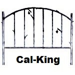 image for Forged Iron HB & Frame Only Cal-King