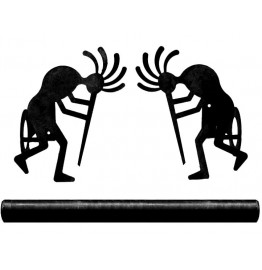 image for Hump Back Kokopelli Pole Rod Holders (Rod Optional)