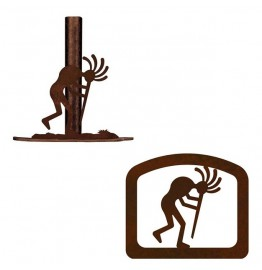 image for Kokopelli Southwestern Paper Towel Stand & Napkin Holder