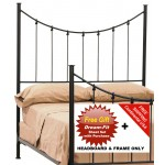 image for Knot Forged Iron HB & Frame Only King & FREE SHEETS