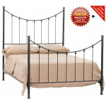 image for Knot Forged Iron Bed King Size Complete & FREE SHEETS