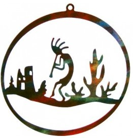image for Kokopelli Southwest City Christmas Ornament