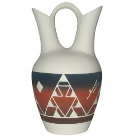 image for Lakota Night Sioux Wedding Vase 9.5 x 5.5